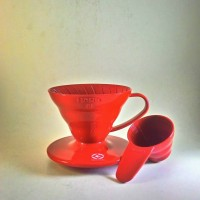 Jual Hario V60 Coffee Dripper 01 Red VD-01R Murah
