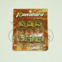 harga Set Roller Cvt 9gr Vario-beat Fi-scoopy Fi-vario Fi Kawahara Tokopedia.com