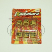 harga Set Roller Cvt 11gr Beat-scoopy-spacy Kawahara Tokopedia.com
