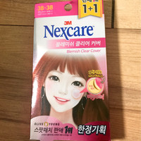 NEXCARE BLEMISH CLEAR COVER ACNE TREATMENT 100patch
