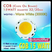 harga Led Hpl Cob 15 Watt Ukuran 32/20 Mm Warm White Tokopedia.com