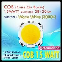 harga Led Hpl Cob 15 Watt Ukuran 28/20 Mm Warm White Tokopedia.com