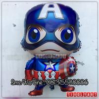 Balon Foil Captain America / Balon Foil Hero