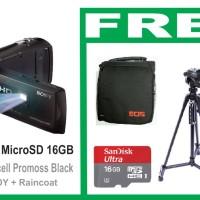 FullHD Handycam PROJECTOR SONY HDR-PJ410 + 16GB+TRIPOD+TAS EOS