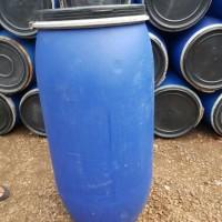 Drum/tong plastik HDPE 150liter (untuk simpan oli,ikan,bumbu,sampah)