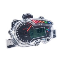 Promo Koso Plug & Play Meter with 8 Color Backlight for MX King 150