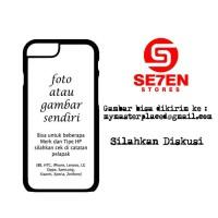 Casing Samsung iPhone Oppo Xiaomi Xperia Zenfone Vivo Desain Sendiri