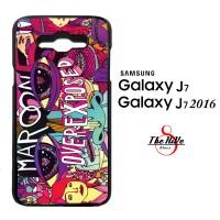 Maroon 5 Album Over Exposed 0238 Casing for Galaxy J7, J7 2016 Hardcas