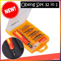 Obeng Set Toolkit 32 In1 Plus Pinset