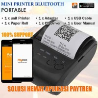 Printer Bluetooth EP5802A - Android iOS,suport PAYTREN