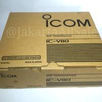 HT Icom IC-V80 LITHIUM & RAPID CHARGE