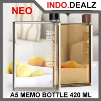 Jual [Promo] Neo Botol Minum A5 Memo Bottle Tempat Minuman MemoBottle 420 M Murah