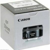 Lensa Fix Kamera DSLR Canon 50mm f1.8 STM 50 mm f1/8 Hasil Tajam Bokeh