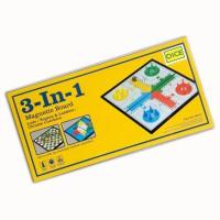 3 in 1 Family Game / Mainan Catur - Ular Tangga - Flying Chess