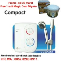 Water Heater Instant Acme Compact / Mesin Pemanas Air Mandi