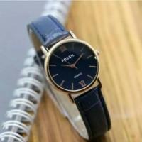 Jam tangan wanita, Fossil kulit terbaru, kw super