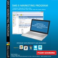 Program Aplikasi SMS Massal Marketing Promo Bonus Modem Internet