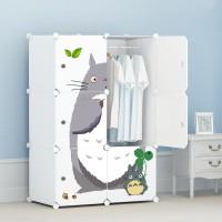 Jual lemari baju furniture rak portable anti air murah tebal storage TOTORO Murah
