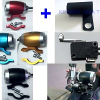 harga Lampu Sorot Tembak Led Cree U3 Mini Drum + Saklar Micro Switch Tokopedia.com