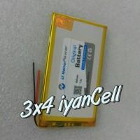 Baterai/Battery Tablet T1C - 3 Kabel