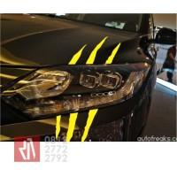 stiker mobil cutting wolverine claw cakar lampu sticker keren -01