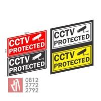 Harga cutting sticker mobil bandung CCTV protected stiker murah  01   WIKIPRICE INDONESIA