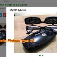 Kacamata Pinhole Glasses Tipe 12 Terapi Mata Rabun Jauh