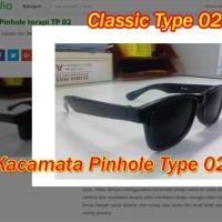 Kacamata Pinhole Glasses Tipe 02 Terapi Mata Rabun Jauh