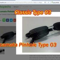 Kacamata Pinhole Tipe 03 Plus Terapi Mata Rabun Jauh De