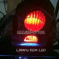 LAMPU REM LED SILIKON   LAMPU REM SMD UNTUK MOBIL DAN MOTOR ARUS DC