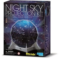 4M KidzLabz Night Sky Projection Kit Bedroom Light Science
