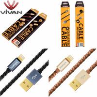 Vivan PL100 1M Lightig Cable For IPhone 5/5S / 6/6S Black Garansi 1 Thn