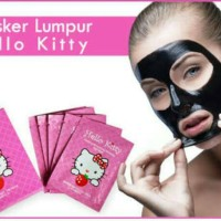 Masker Lumpur Hello Kitty / Masker Hello Kitty / Masker Wajah