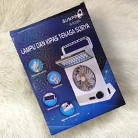 Jual Lampu Emergency Kipas Solar Cell / Solar Light Fan Murah