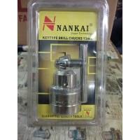 Kepala Mesin Bor Tangan / Drill Chuck & Key 13mm Nankai