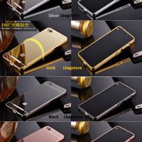 Aluminum Bumper Back Cover Case Cermin Xiaomi Mi 4i Mi 4c Mi4i / Mi4c