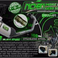 LIMITED EDITION Knalpot Racing NOB1 Neo SS Dualsound Untuk Type Motor