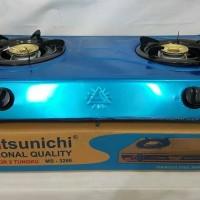 Matsunichi kompor gas 2 tungku MS 328E limited