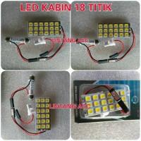 Lampu Kabin/Plafon Mobil 18 LED Super White