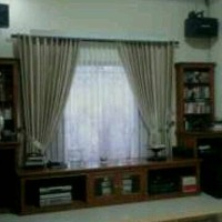 Gorden/gordyn karpet dan wallpaper area Graha raya dsktrnya