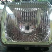 lampu reflektor kotak Hella made in Germany NOS