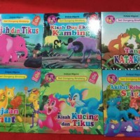 buku cerita Anak Seri Dongeng Binatang