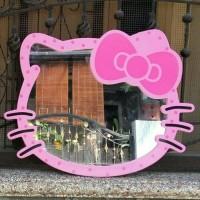 Jual cermin kaca hello kitty HK polkadot Murah