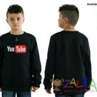Jaket Sweater Anak Youtube (Unisex)