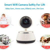 SMART WIRELESS CCTV HD IP Camera 2- WAY AUDIO/NIGHT VISION/ROTATE