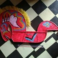 Mainan jaran kepang, kuda lumping jathilan tanggung
