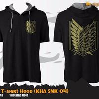 Jual Jual Kaos Anime Attack On Titan Gold T-shirt Hoodie (Kha Snk 04) Murah
