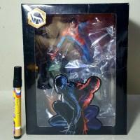 Mainan Action Figure Spiderman Statue Figure Skala 1:9