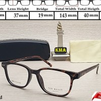 frame kacamata minus ted baker bingkai frame kacamata minus kotak baru