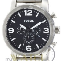 Jam Tangan Pria Fossil JR1353 Nate Chronograph Stainless Steel